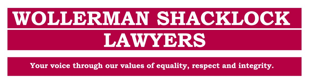 Wollerman Shacklock Lawyer Logo